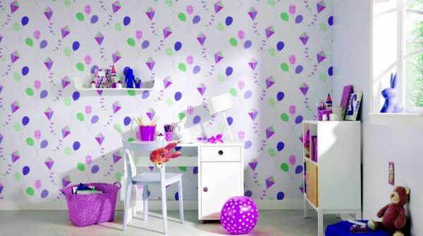 бумажные обои для стен в детскую