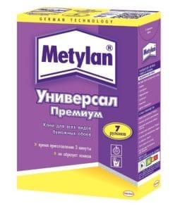 Metylan - клей для бумажных обоев