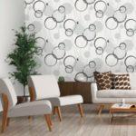 Флизелиновые обои для стен в интерьере: плюсы, минусы, особенности