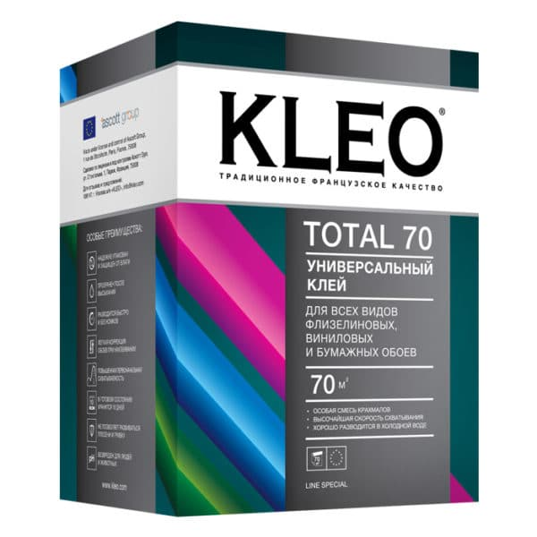 обойный клей Kleo Total