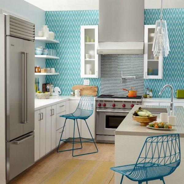 моющиеся обои на кухню