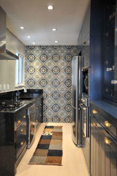 дизайн моющихся обоев для кухни