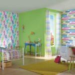 Обоями какого цвета оформить комнату ребенка