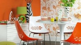Комбинированный дизайн кухни: правильное сочетание обоев