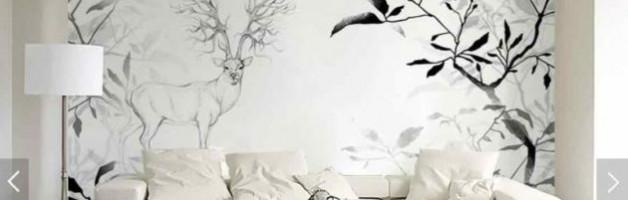 Рисунки на белых холстах