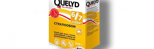 Выбор профессионалов: клей для стеклообоев Quelyd