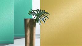 Особенности покраски виниловых обоев