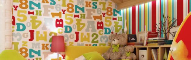 Какие обои больше подходят для детской комнаты